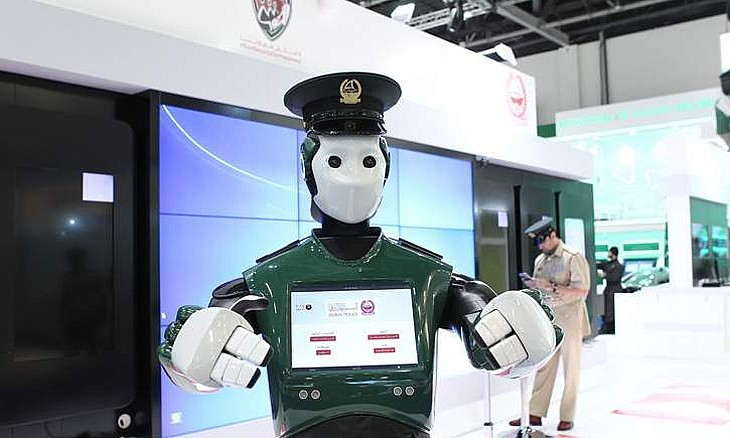 World's first  Robocop will patrol the streets of Dubai and keep an eye on suspicious elements.