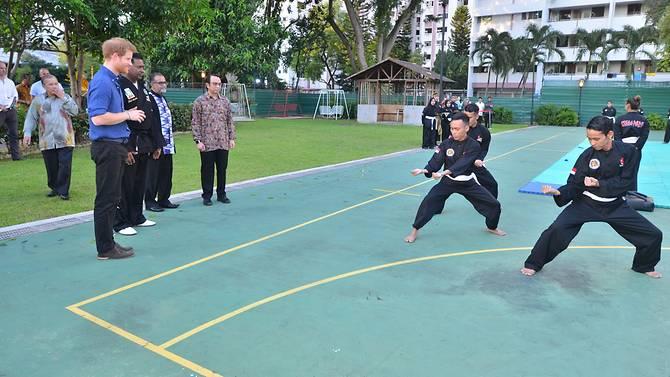 Photo courtesy: British High Commission Singapore
