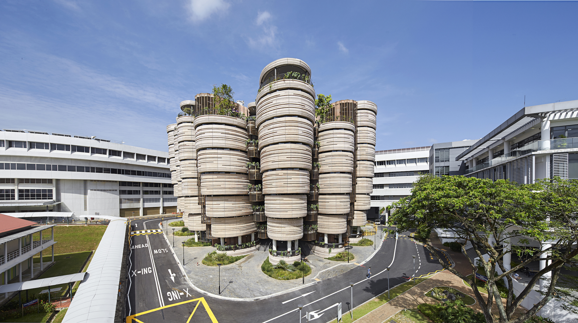 The Hive. Photo courtesy: NTU