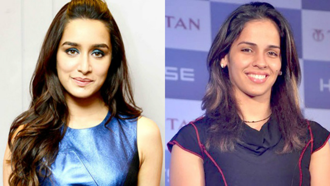 Shraddha Kapoor (left) and Saina Nehwal.