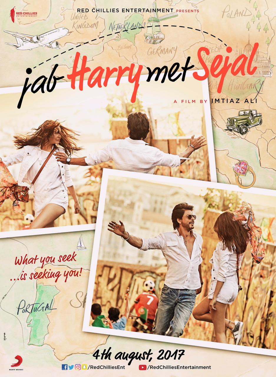 Jab Harry Met Sejal starring Anushka Sharma & Shah Rukh Khan, directed by Imtiaz Ali