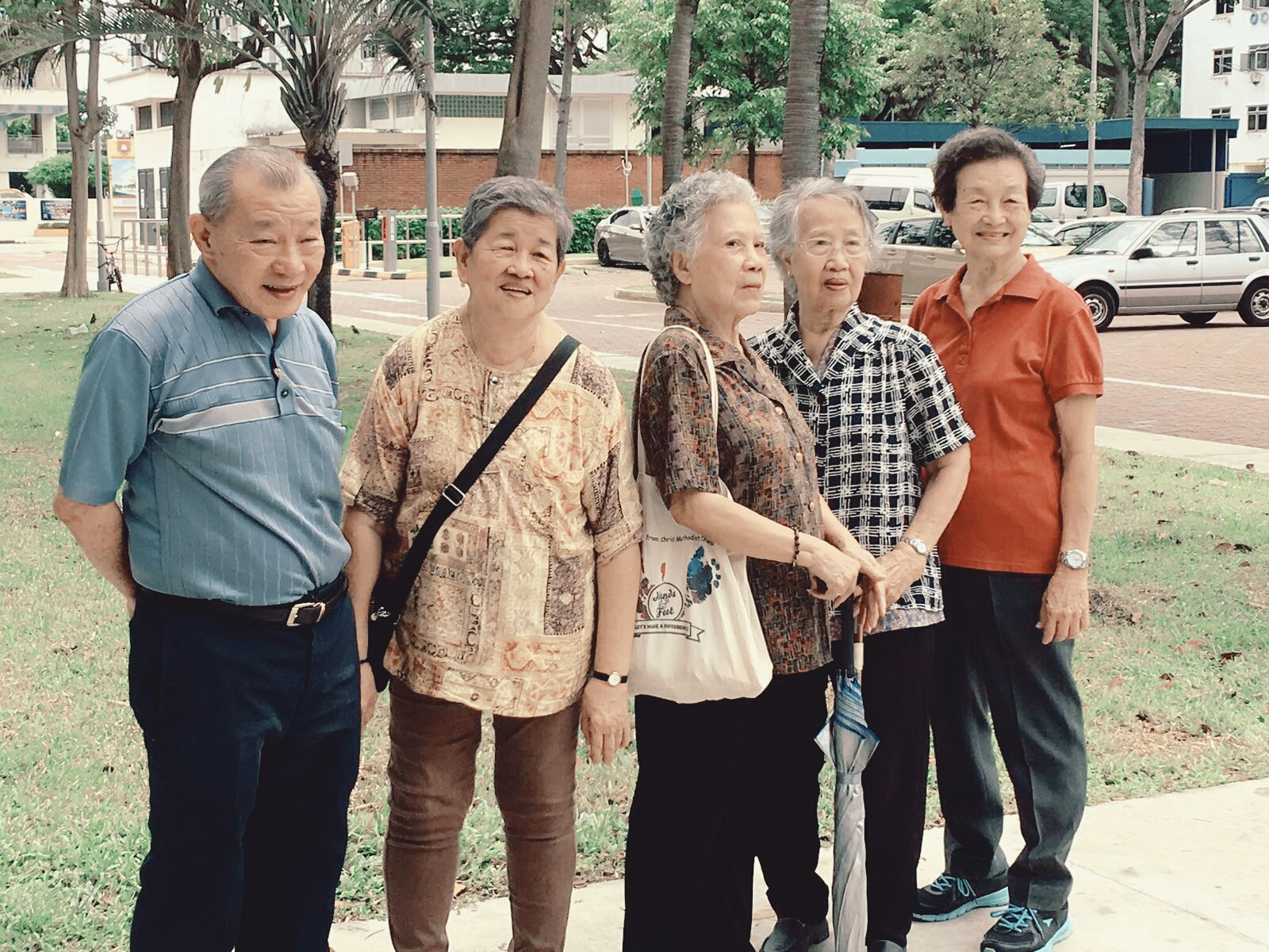 Senior citizen social groups