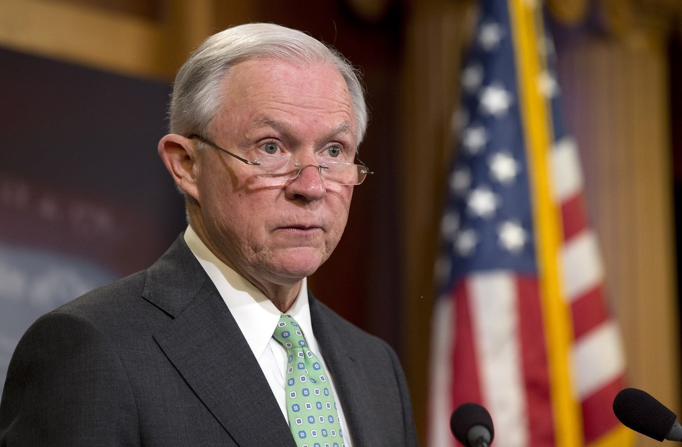 Attorney-General Jeff Sessions.