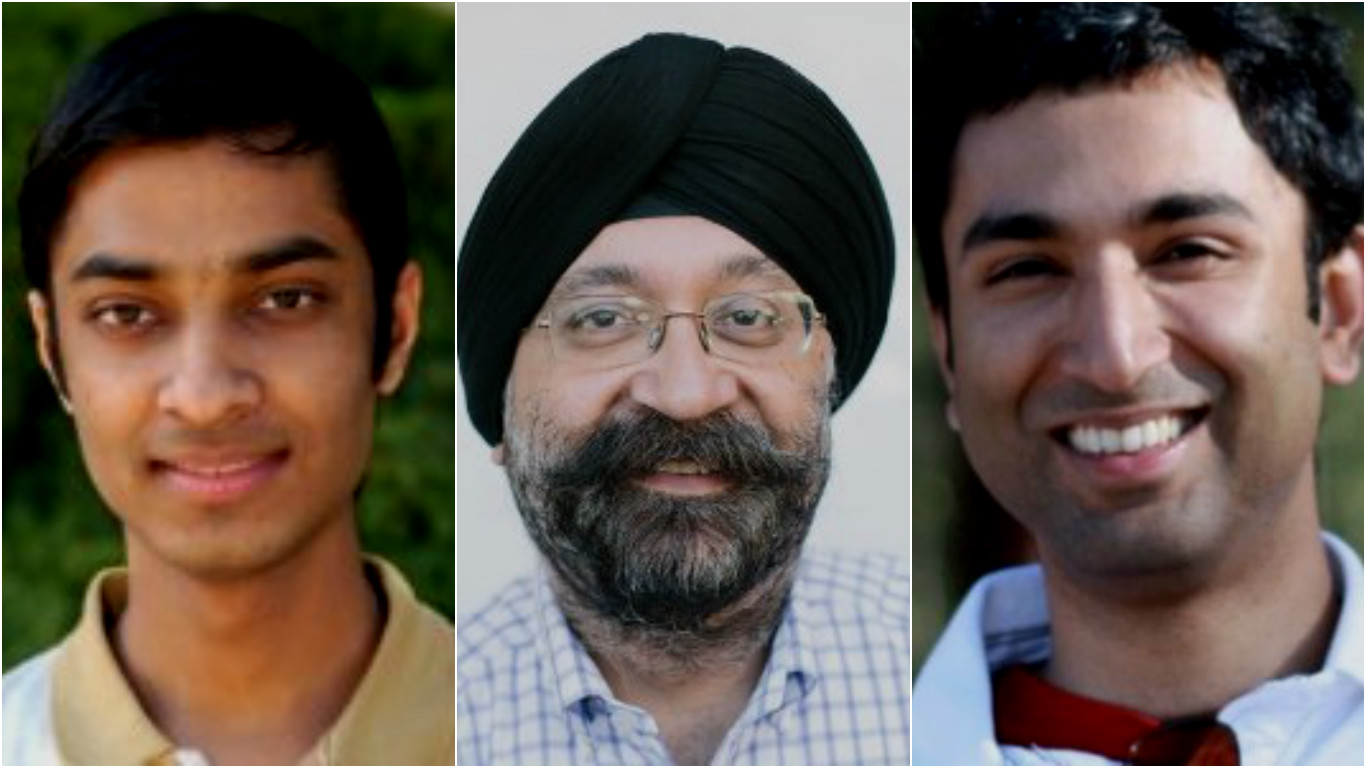 Trooly co-founders From left: Anish Das Sarma, Savi Baveja and Nilesh Dalvi