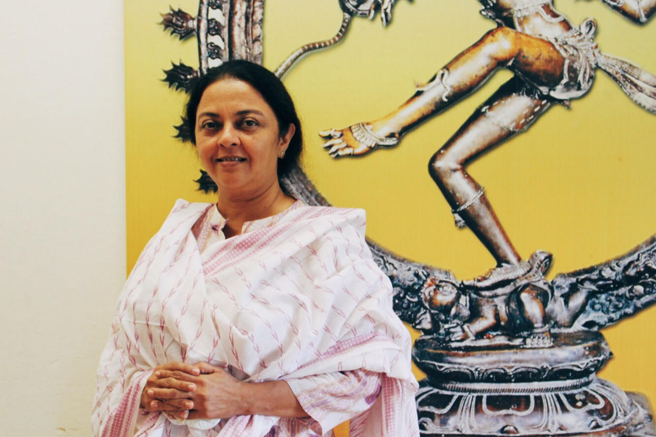 Vaishali Trivedi at the Apsaras Arts studio, Goodman Arts Centre. Photo: Connected to India