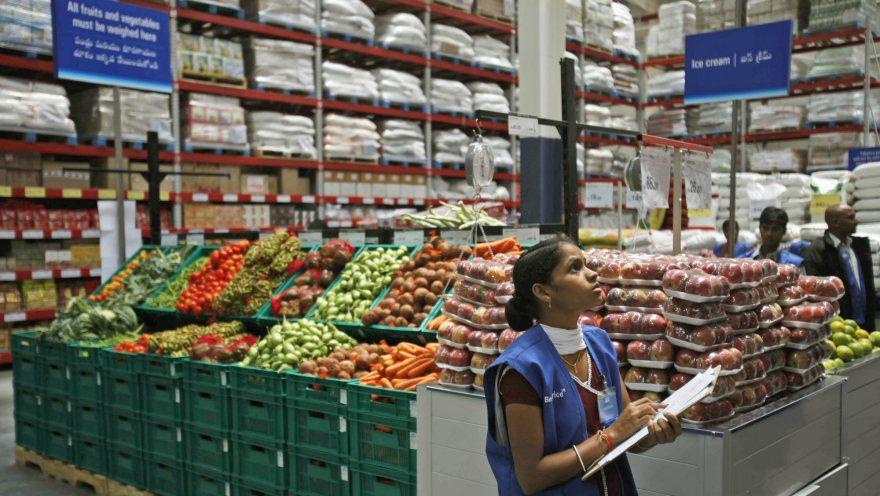 Walmart in India.