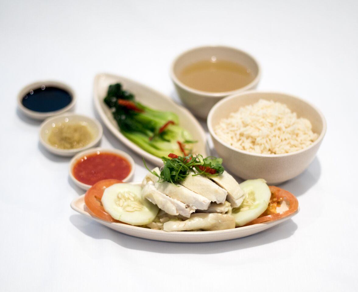 Hainanese Chicken Rice. Photo courtesy: SIA