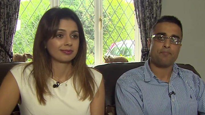 Sandeep and Reena Mander.