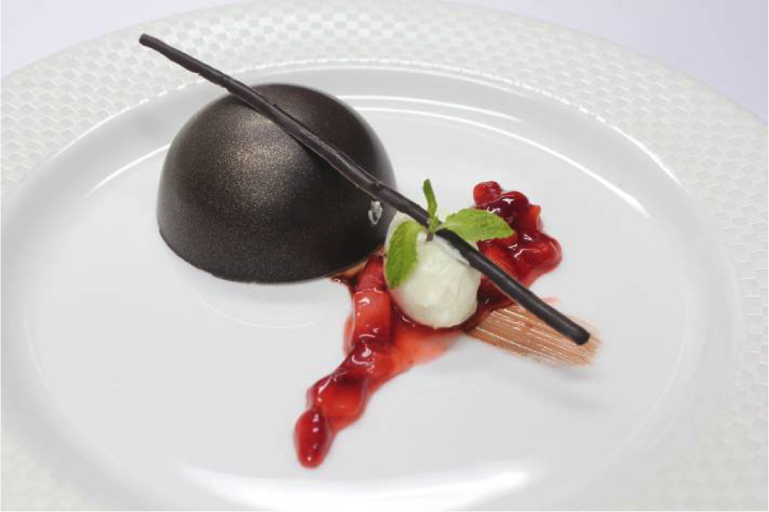Chocolate Kulfi Dome Photo courtesy: Yantra by Hemant Oberoi