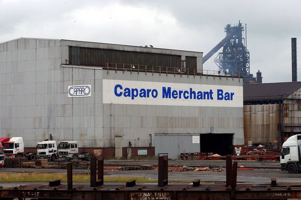 Caparo Merchant Bar plant in Scunthorpe.