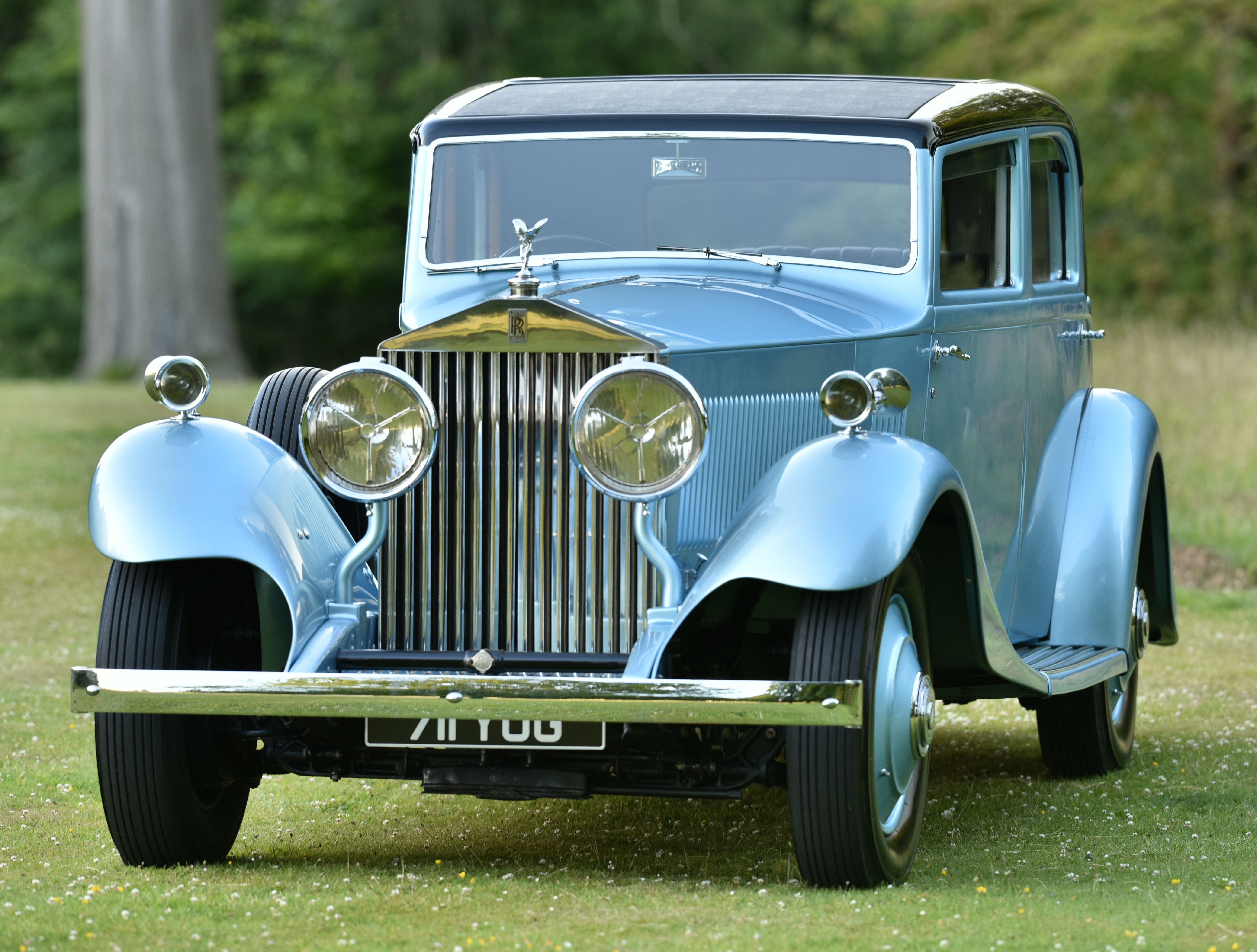 Rolls-Royce Phantom II Continental. Photo courtesy: Rolls-Royce