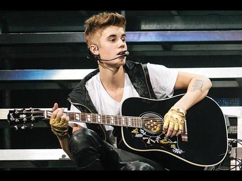 Pop star Justin Bieber.