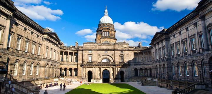 University of Edinburgh campus.