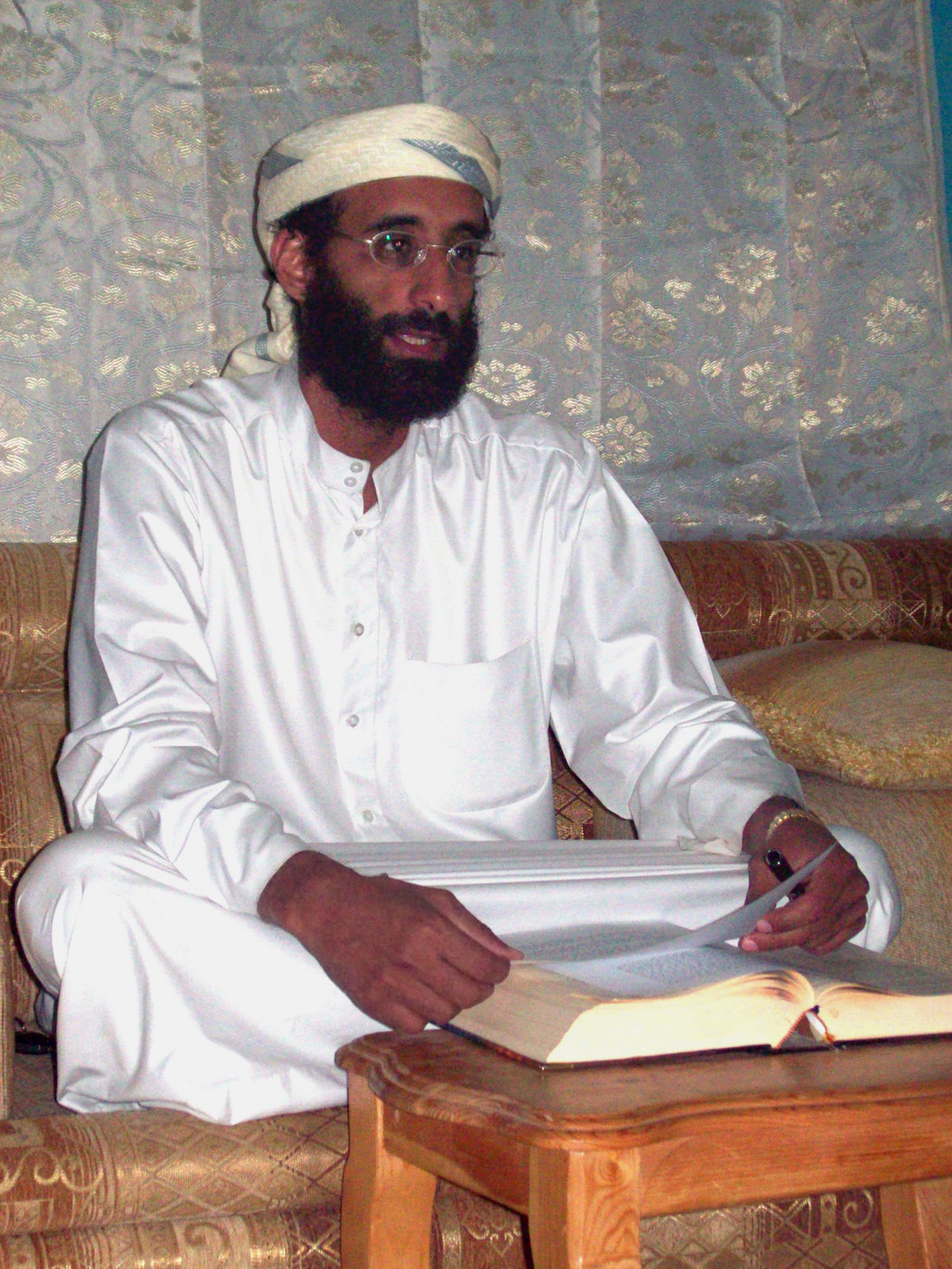 Al-Qaeda propagandist Anwar al-Awlaki. Photo courtesy: Wiki