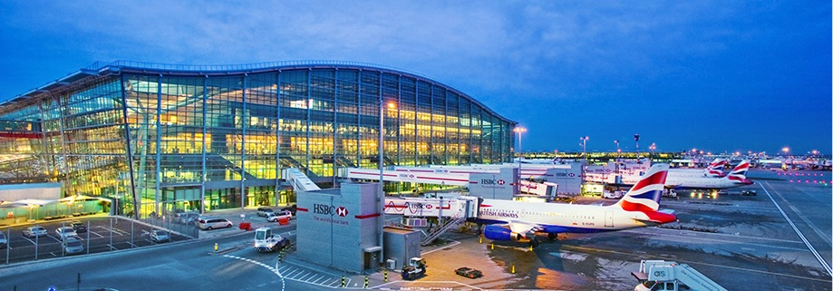 Heathrow Terminal 5.