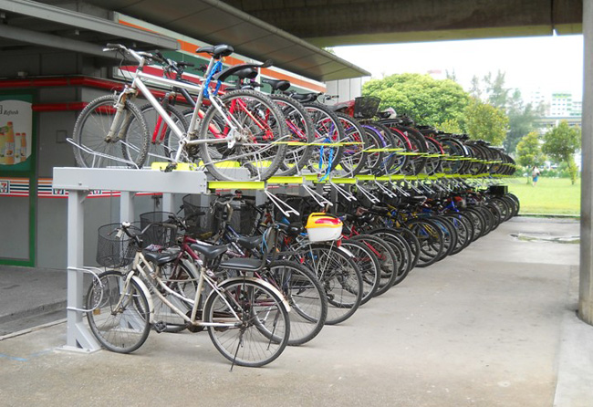 3,000 bicycle parking will be added at MRT stations