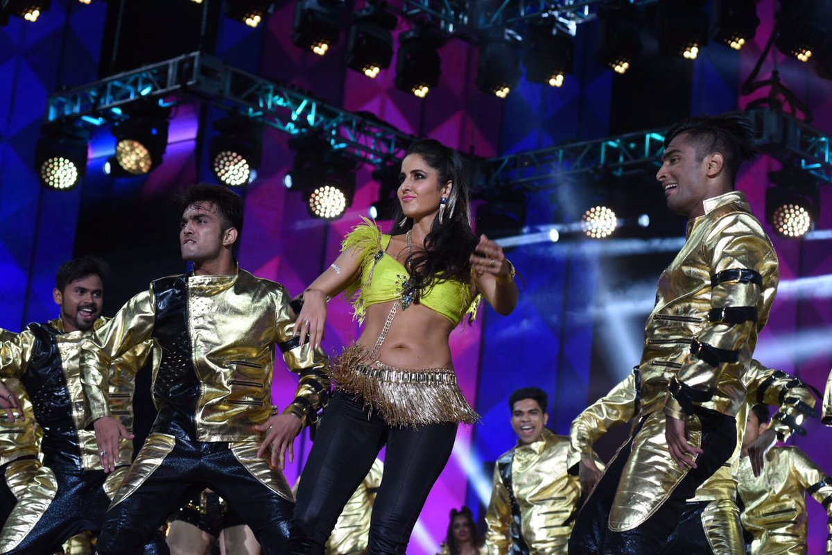 Katrina Kaif rocking the IIFA Awards with her performance.