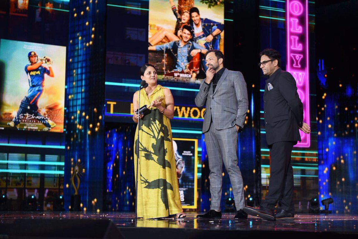 Neerja won the Best Picture Award.