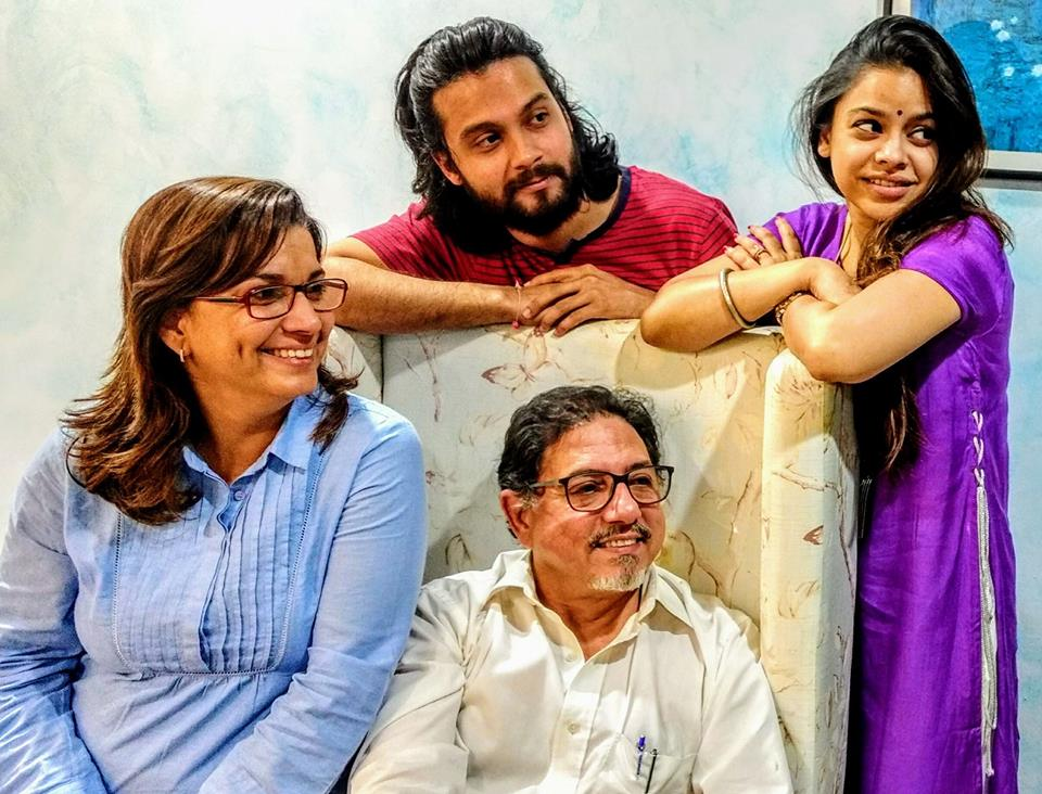 Danesh, Meher Acharia, Darius Shroff and Sumona Chakravarti