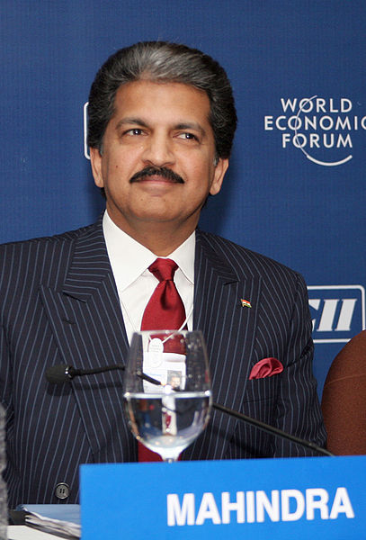 chairman Anand Mahindra