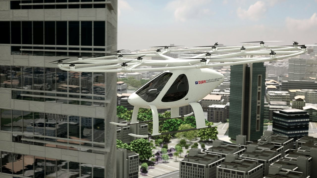 The skyline of Dubai will soon have air taxis.