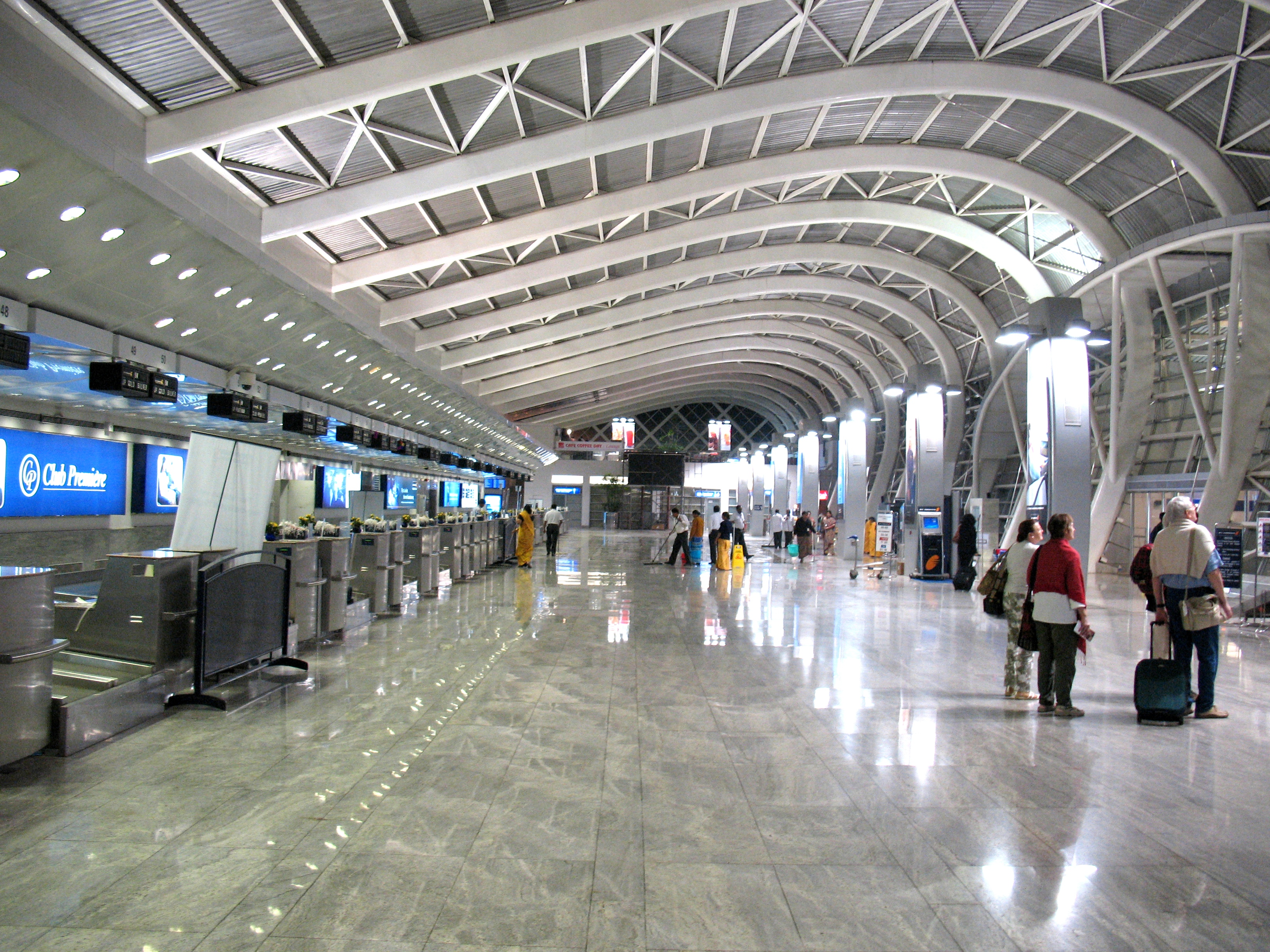 Mumbai's Chhatrapati Shivaji International Airport. Photo courtesy: Wiki