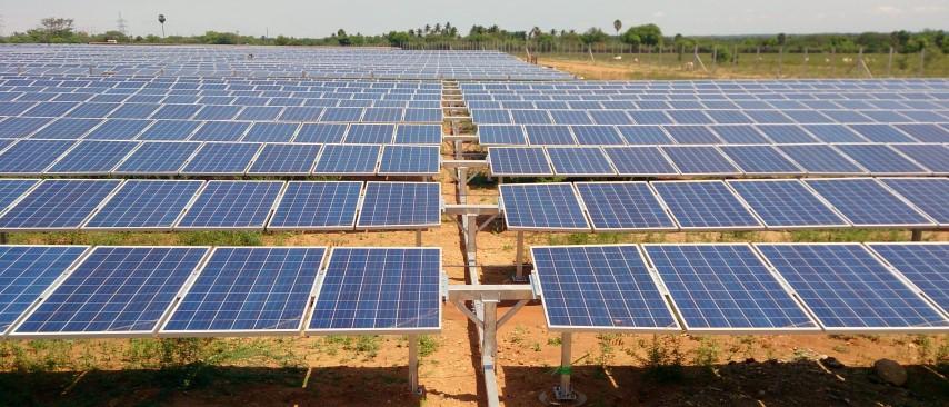 4 MW horizontal single-axis tracker in Vellakoil, Tamil Nadu