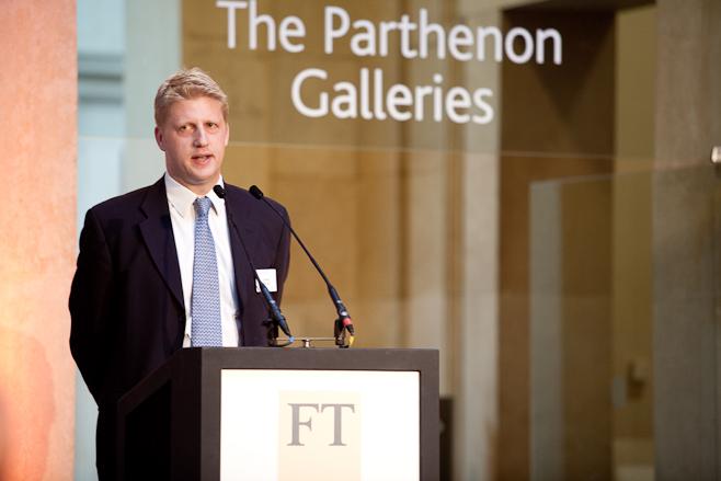 Jo Johnson at British Museum