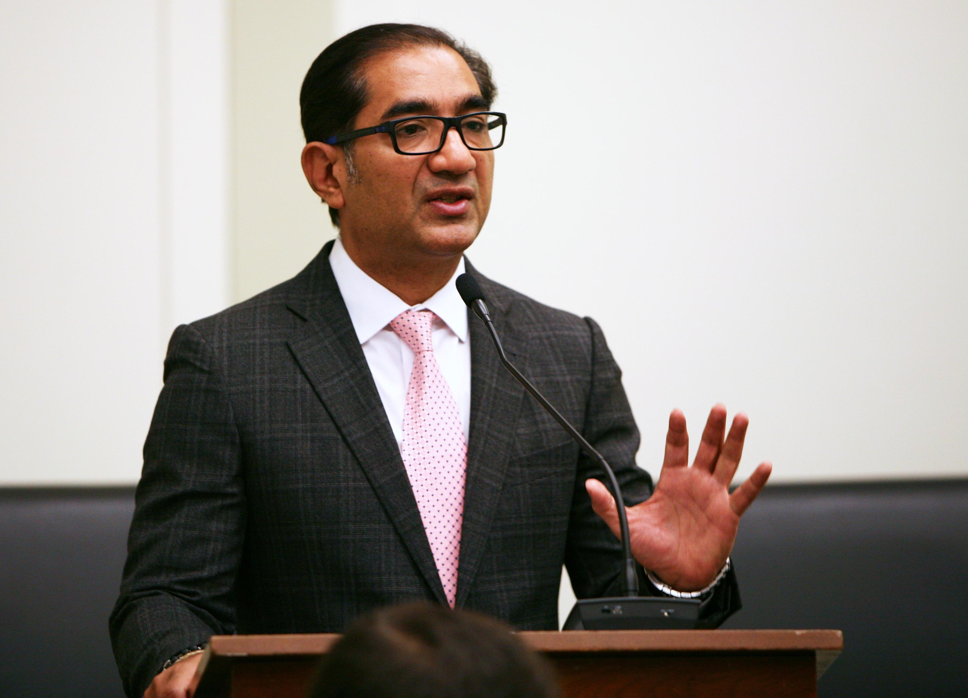 Chairman Sanjay Puri