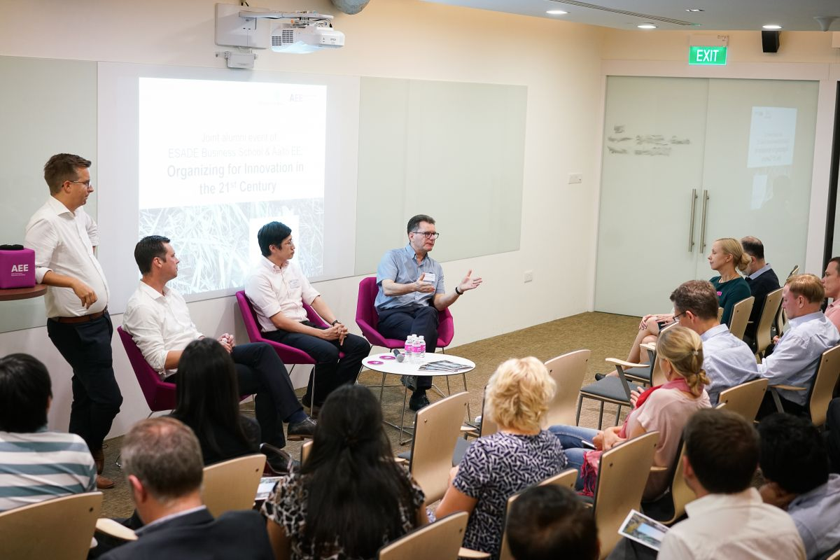 Aalto Executive Education Academy is Singapore-based subsidiary of Aalto University.