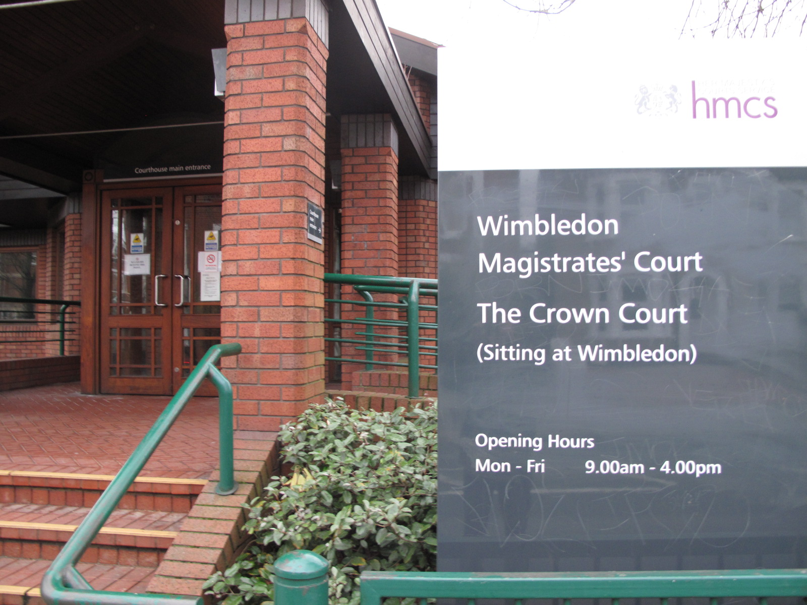 Wimbledon Magistrates' Court.