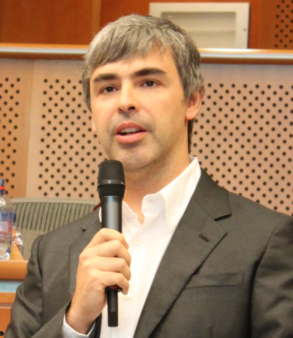 Alphabet CEO Larry Page