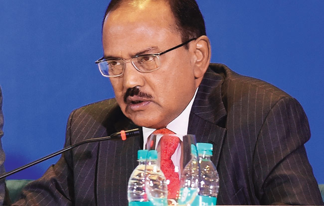 Indian National Security Adviser Ajit Doval. Photo Courtesy: Indian Govt