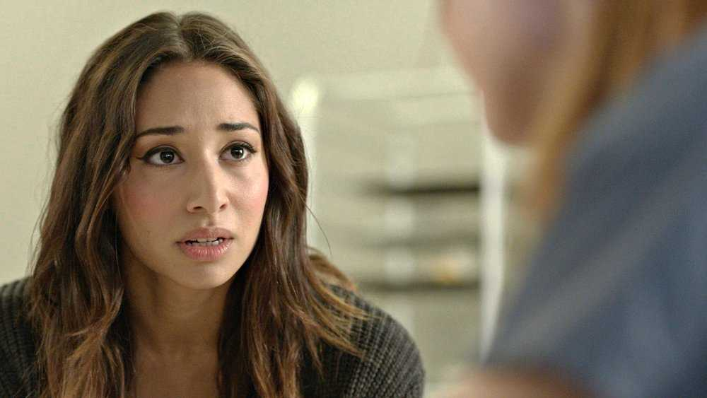 Indo-Canadian actress Meaghan Rath