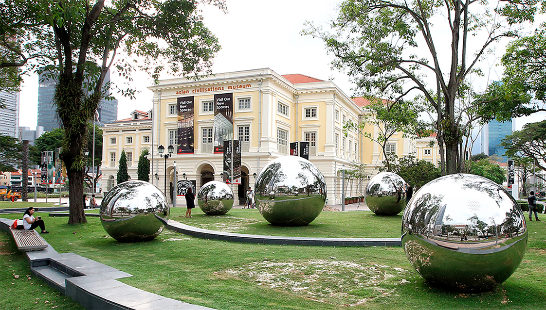24 Hours in Singapore public art installation. Photo courtesy: NAC