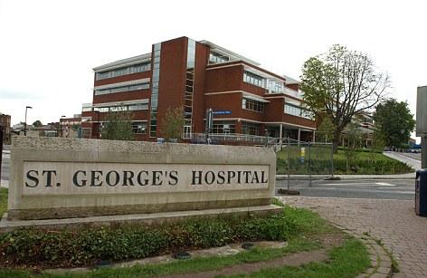 St George's Hospital.