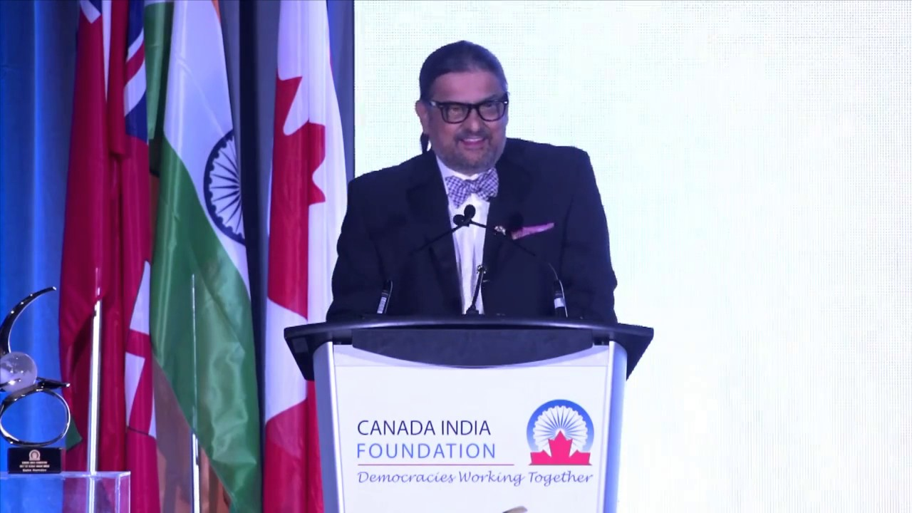 Ajit Someshwar at the CIF Awards gala.