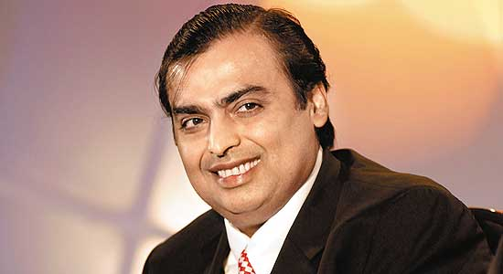 Mukesh Ambani, Chairman of Reliance Industries Ltd.