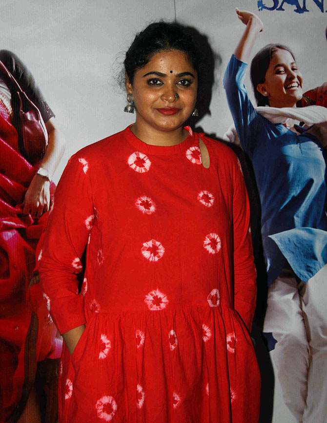 Director of upcoming film 'Bareilly Ki Barfi', Ashwiny Iyer Tiwari.