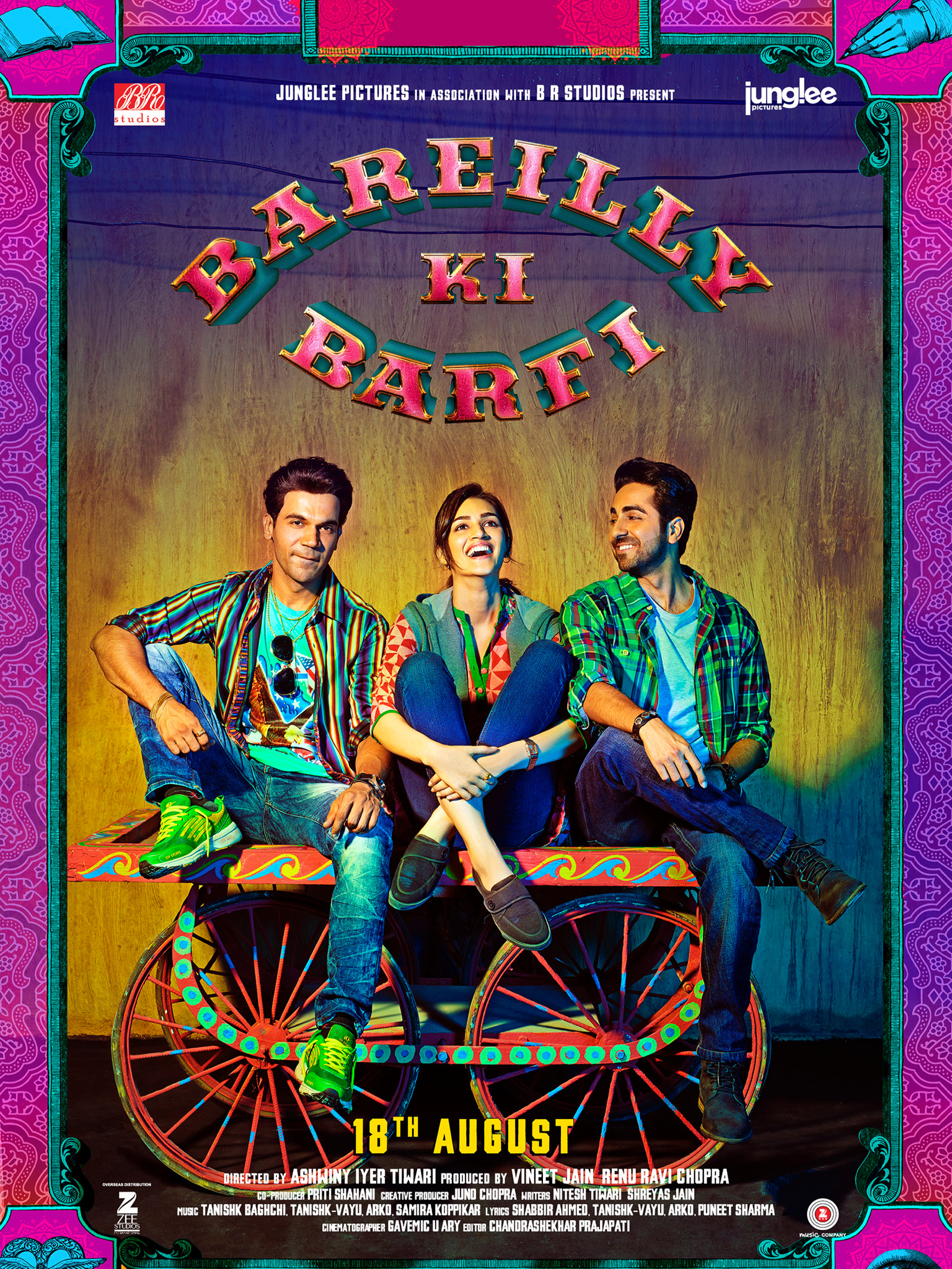 The poster of 'Bareilly Ki Barfi'.