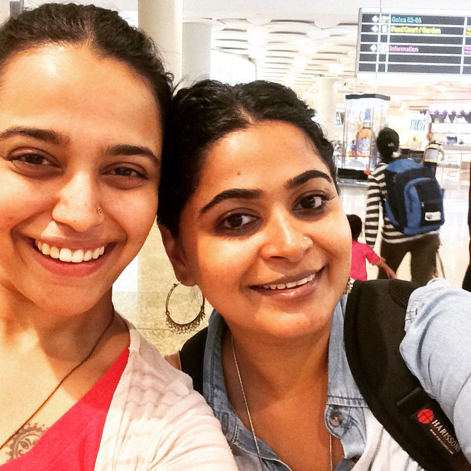 Ashwiny with the protagonist of 'Nil Battey Sannata' - Swara Bhaskar.