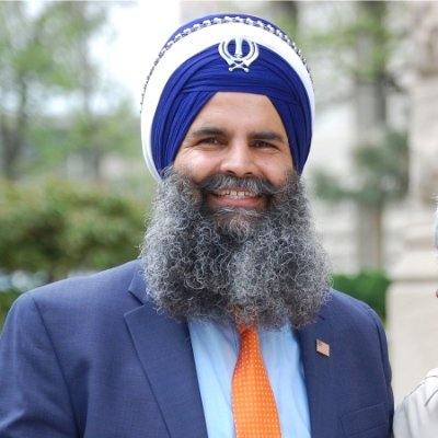 Gurinder Singh Khalsa, founder and chairperson of Sikhs Political Action Committee.