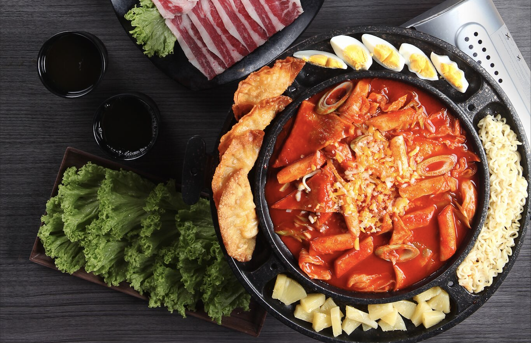 Cheese Mandu Tteokbokki. Photo courtesy: SEORAE