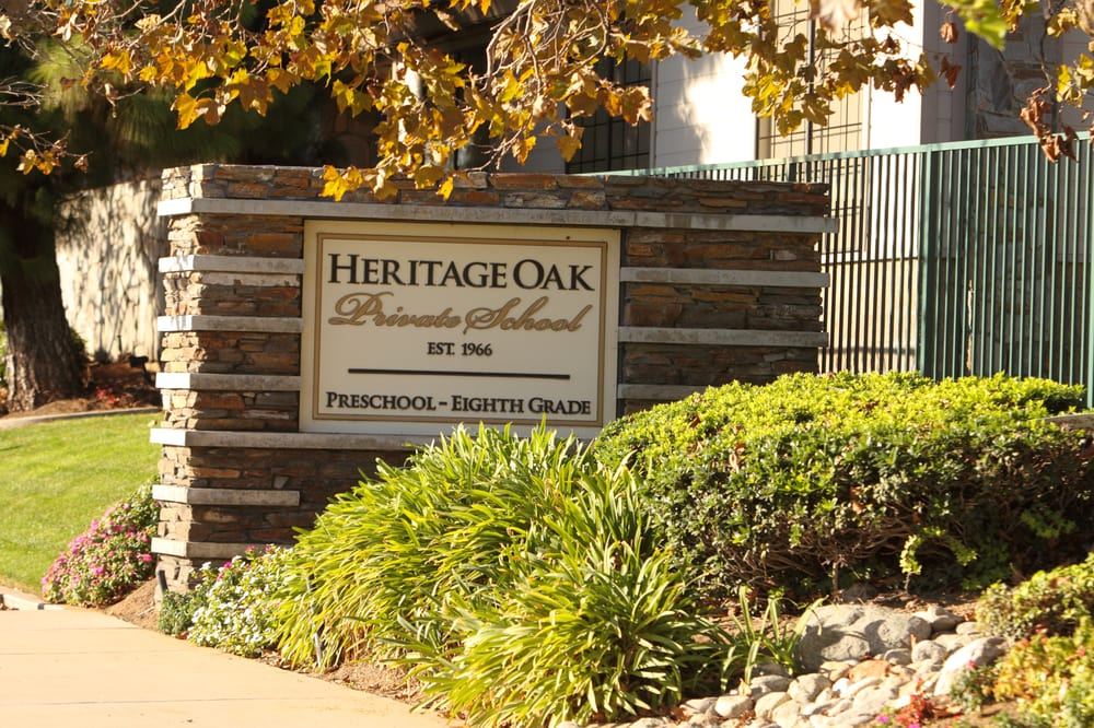 Heritage Oak Private School.