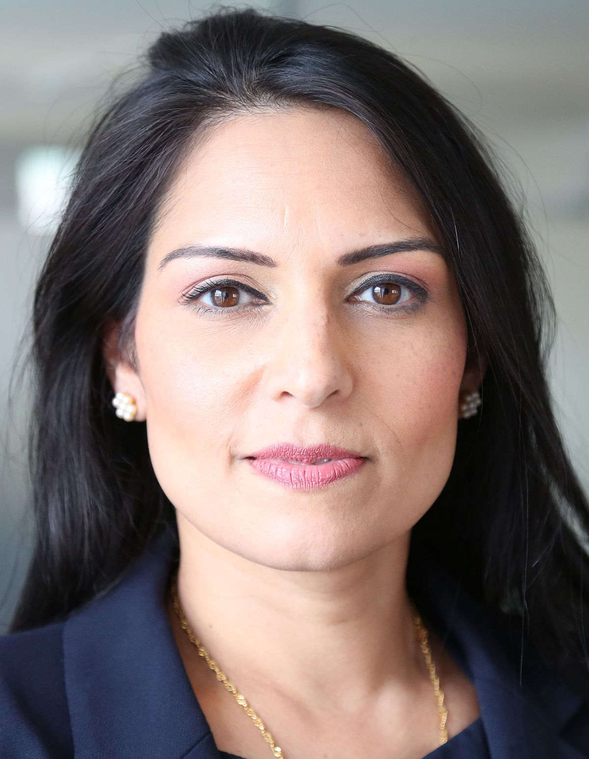 Secretary of State for International Development of UK Priti Patel.