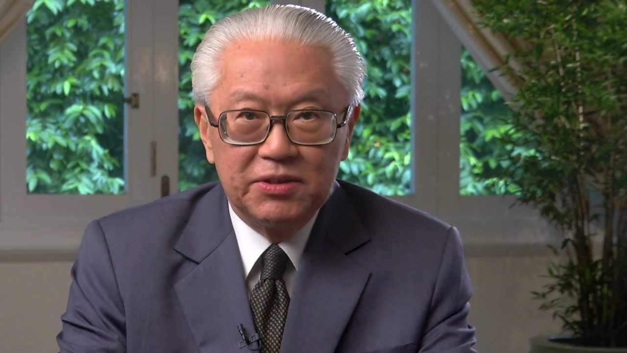 President of Singapore Tony Tan.