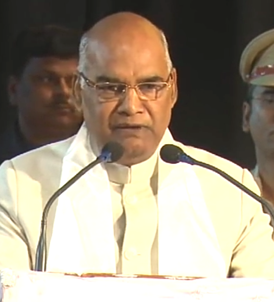 President of India Ram Nath Kovind.