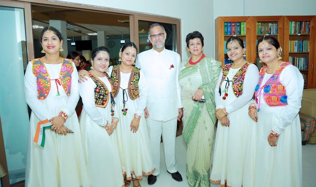 Ambassador Navdeep Suri at Independence Day celebration.