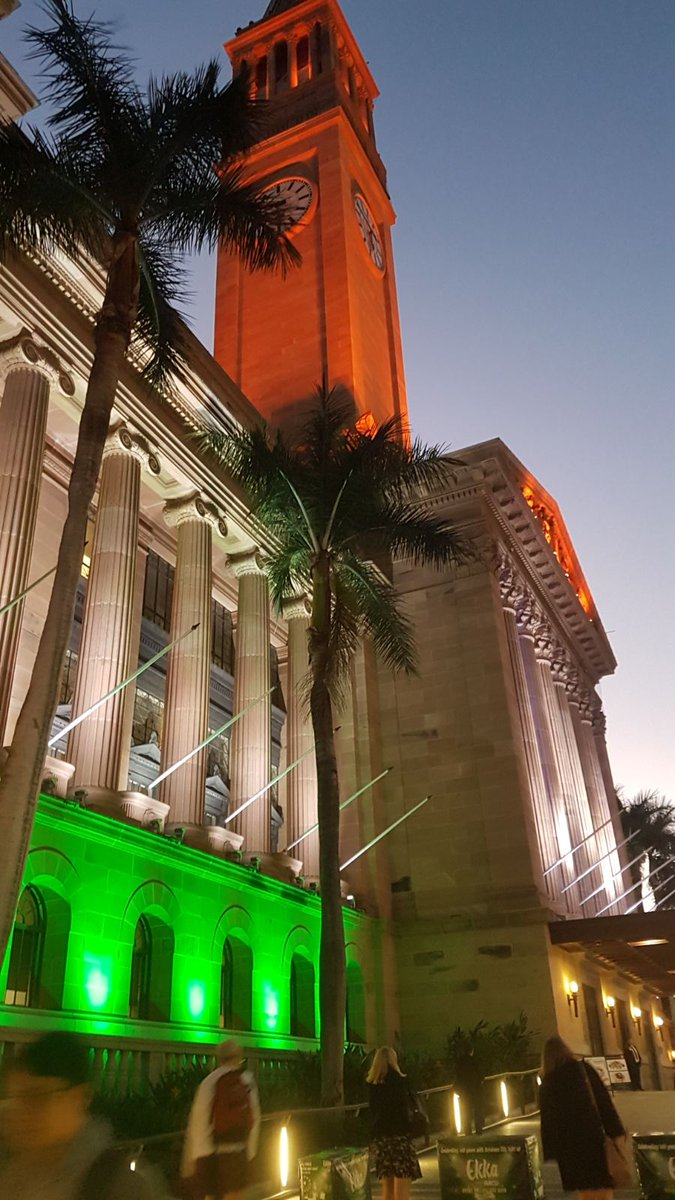 Laudable effort of lighting the City Hall