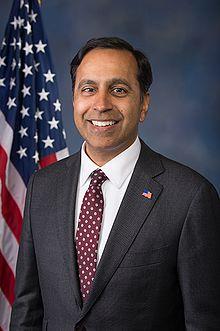 Indian-American Congressman Raja Krishnamoorthi